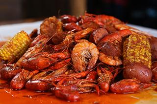 TBC-Crawfish in Whole Shabang Sauce